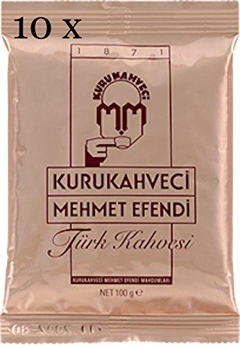 café turco kurukahveci Mehmet Efendi 10x 100G