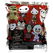 Disney Nightmare Before Christmas 3D Keyring Keychain Mystery Mini Blind Pack