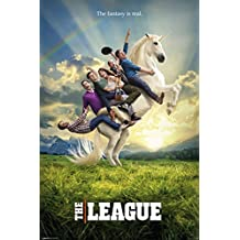 The League Unicorn Poster - 24x36