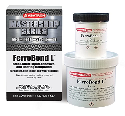 FerroBond L, 1 Pound Kit (Liquid Filled Glass Pipe)