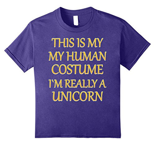 Witty Halloween Costumes (Kids Unicorn Halloween Costume Shirt Dab Funny Men Women Kids Tee 8 Purple)