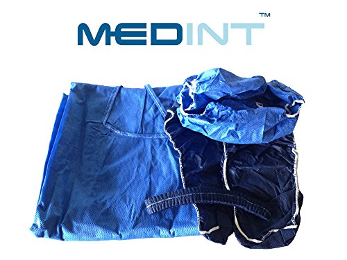 - Medint Hospital Admission Clothing Kit Nursing Home Therapy Hospice and Acute Care Apparel Disposable Gowns Medical Patient Nonwoven Fabric Including Gown Bouffant Cap Underwear and Shoe Cover