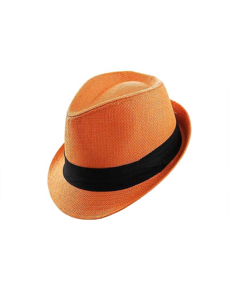 Tweed Classic Cuban Style Fedora Fashion Cap Hat Hatter The Co Orange