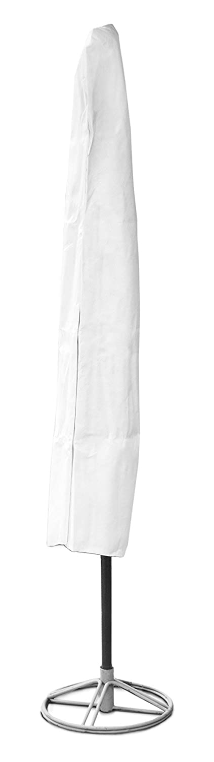 KoverRoos 24150 DuPont Tyvek 7 ft to 9 ft Umbrella Cover, White - 76 H x 48 Circumference in. B000AUPYN8