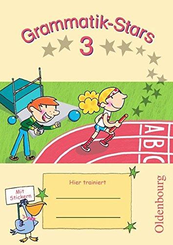 Grammatik Stars  3. Schuljahr   Übungsheft  Mit Lösungen