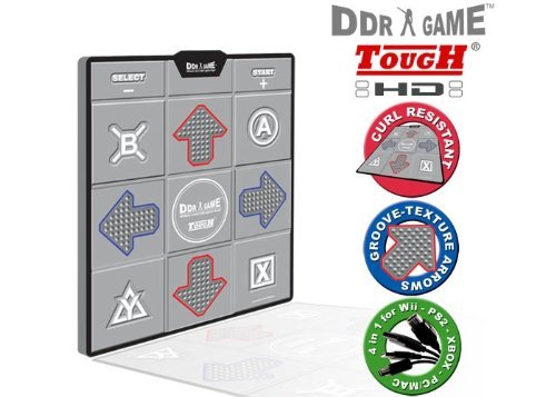 - Hyperkin Inc PS/PS2/Xbox/USB/GC/Wii - Tough HD Deluxe Universal Dance Pad by Dance Dance Revolution