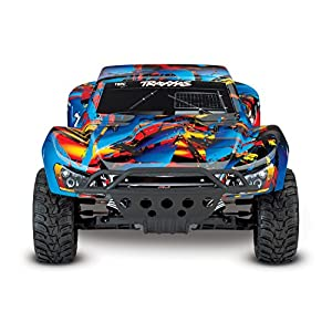 Traxxas 58024 Slash 2Wd Short Course Racing Truck, Rock N' Roll