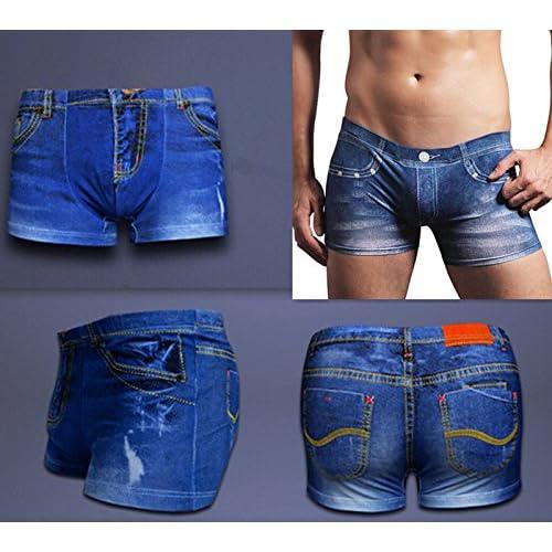 Prettyia Bóxers Ropa Interior Pantalones Cortos de Algodón Suave para Hombre HaQNbPNc