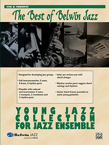 Young Jazz Collection for Jazz Ensemble: 4th B-flat Trumpet