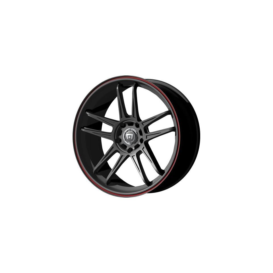 Motegi Racing MR117 Matte Black Finish Wheel (17x7/4x100mm)
