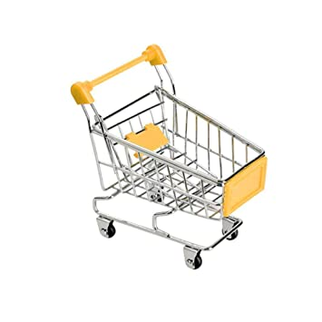 Ben-gi Beb/é Hijos Simulaci/ón Mini Carro de Compras Juguetes carros de Mano de supermercado Cesta del almacenaje de la Carretilla de Juguete