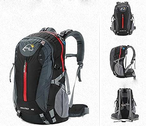 mochilas montaña Hombres bolsos al aire libre del alpinismo de los modelos femeninos de viaje bolsa ...