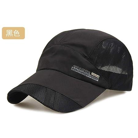 woyaochudan Sombrero Verano Masculino Visera de Secado rápido ...