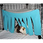 Corner Fleece Forest Hideout for Guinea Pigs, Ferrets, Chinchillas, Hedgehogs, Dwarf Rabbits and Other Small Pets - Accessories and Toys 9