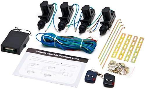 Universal Central Lock and Unlock for 2, 3, 4 car Truck Doors 4 actuators Biltek CX-402 Conversion Kit
