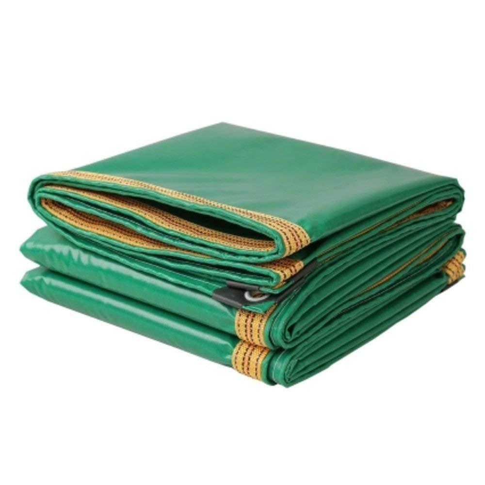 MONFS Home Regenschutztuch wasserdicht Plane PVC-LKW Regenschutz Sonnencreme Schuppen Tuch Fracht staubdicht Winddicht Plane Antioxidans (Farbe   A, Größe   5  8m)