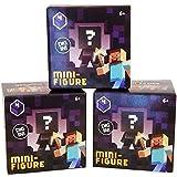 Minecraft Mystery Mini-Figure Series 4 Obsidian (Set of 3 Boxes)