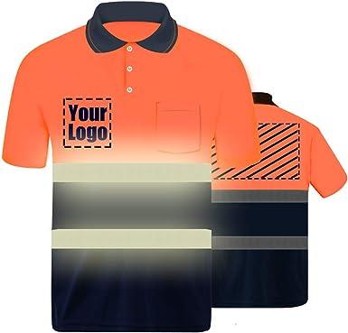YOWESHOP - Polo - para Hombre Naranja Naranja S L: Amazon.es: Ropa ...