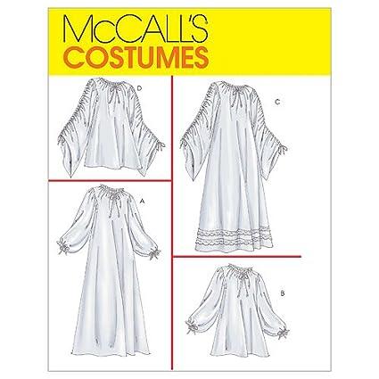 Amazon Mccalls Costumes Sewning Pattern 4091 Renaissance