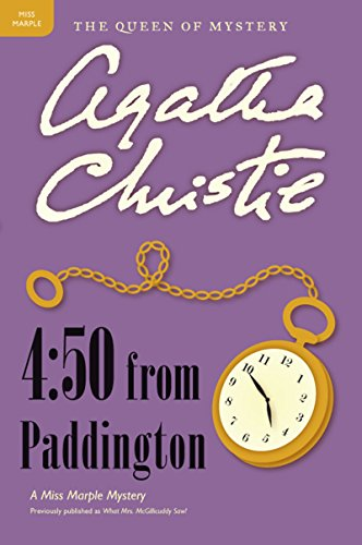 4:50 from Paddington: A Miss Marple Mystery (Miss Marple Mysteries Book 8) cover