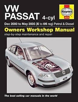 Man vw manual array vw passat petrol and diesel service and repair man 00 05 haynes rh amazon fandeluxe Choice Image