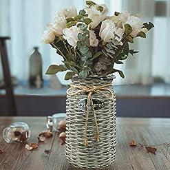 Wicker Vases