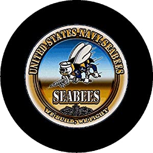 Navy Seabees Tire Cover by CustomGrafixTireCoversTM