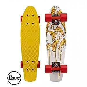 """Penny Complete Classic Skateboard, Mozzarella, 27"""""""