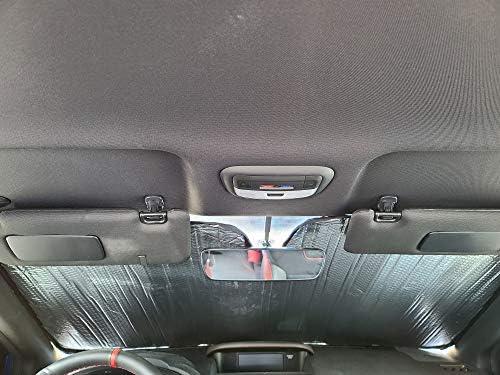 AutoTech Zone Sunshade for 2015-2019 Lincoln MKC SUV Custom-fit Windshield Sun Shade