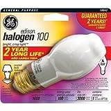GE 10042 100-Watt Edison Halogen BT14.5 1CD Light Bulb New