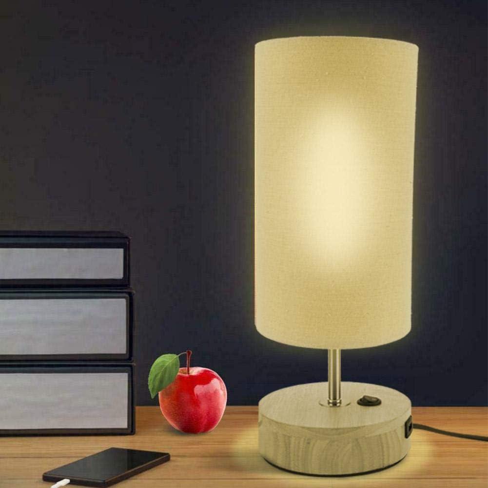 Lámpara de noche LED Pissente con 2 enchufes USB por sólo 11,71€ usando el #código: 2WNSXMBG