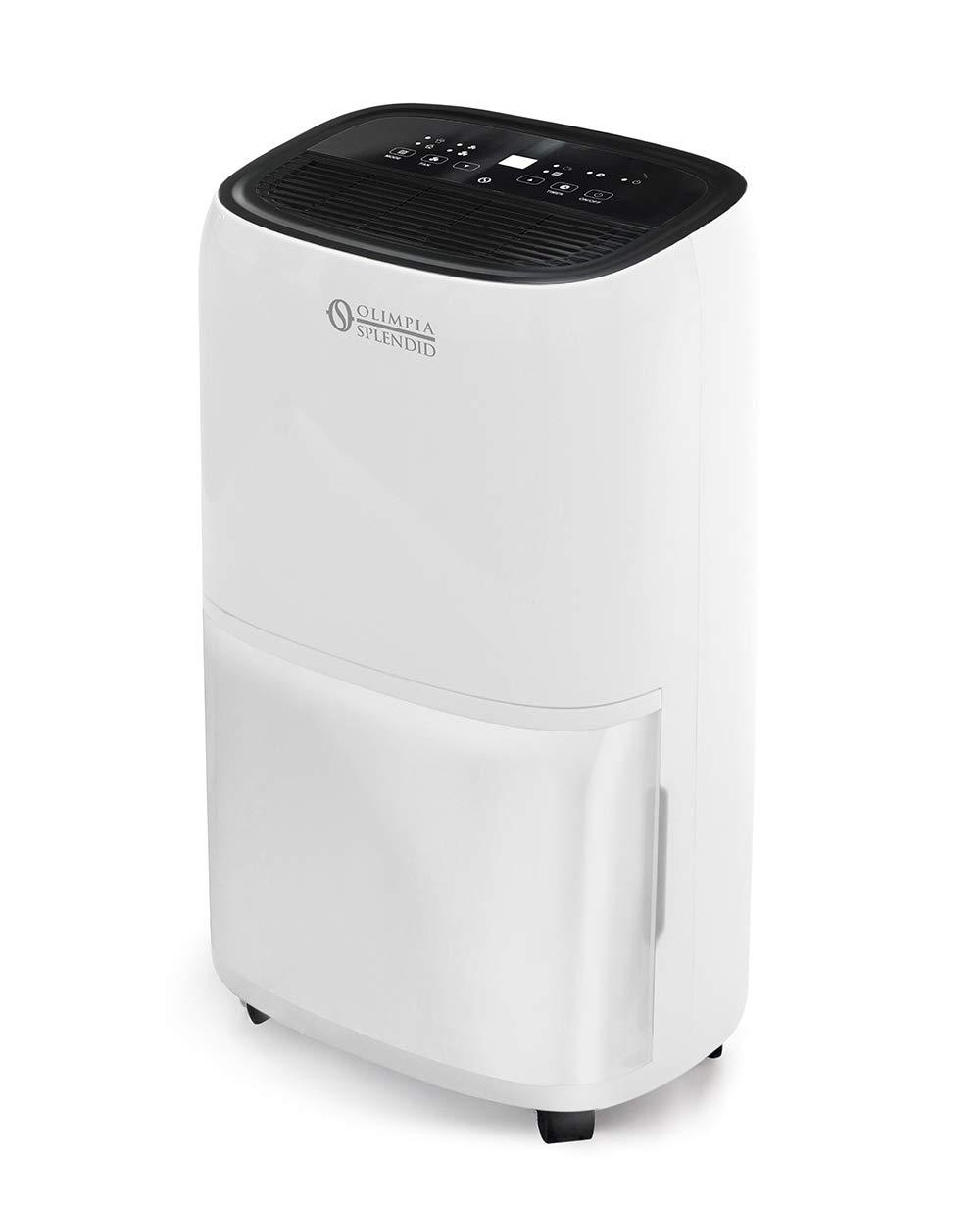 Bianco Gas Naturale R290 Olimpia Splendid 01970 Aquaria 22 P Deumidificatore 22 Litri al Giorno con Funzione Asciugabucato e Pure System