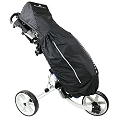 Finally, a rain cover made specifically for 3-wheel cart owners! Structural Foam Hood and Full Bag Design stand out from the crowd. Convenient side and lower pocket access panels with a rainproof pocket for your scorecard. Easy club access an...