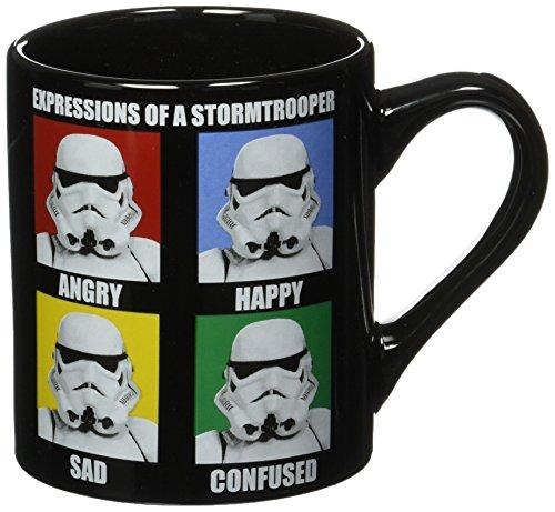 Silver Buffalo SW9932 Star Wars Stormtrooper Expressions Ceramic Mug, 14-Ounces post thumbnail