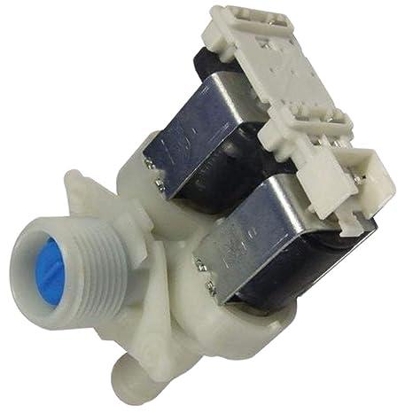 Electroválvula de 2 vías Lavadora 481227128558 Whirlpool ...