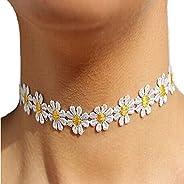Changeshopping Women Delicate Daisy Flower Choker Chain Charm Necklace Bohemia Jewelry