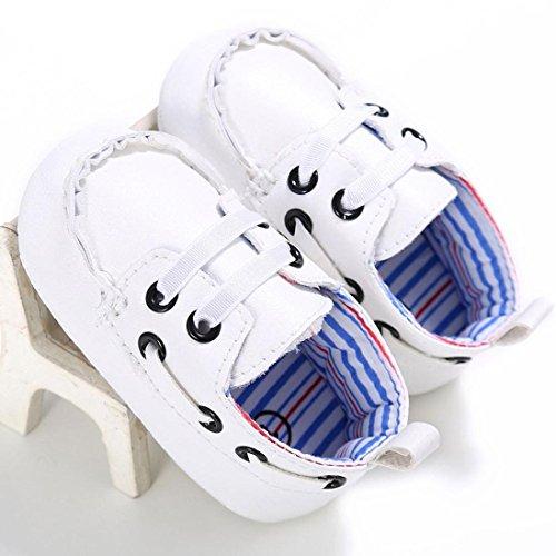 fb542e7861b5f Voberry Newborn Baby Boy Girl Leather Crib Shoes Toddler Soft ...