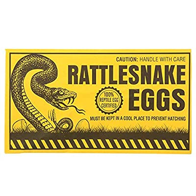 12 Count Rattlesnake Eggs Gag Gift Prank: Everything Else