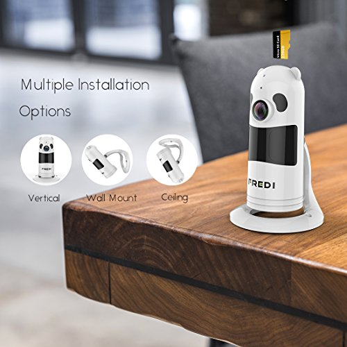 Fredi Baby Monitor Wireless Wifi Ip Surveillance Camera