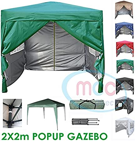 MCC® Gazebo Plegable Impermeable del Gazebo 2x2m, Tienda del ...