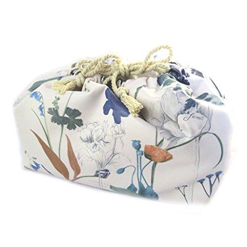 french touch' bolsa 'Fiorelli'multicolor beige (botánica)- 34x26.5x15 cm.