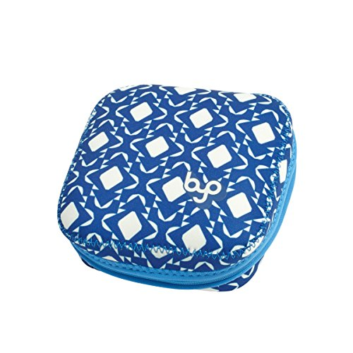 BYO by BUILT NY Bento Sandwich Container with Neoprene Sleeve, Geo Moroccan