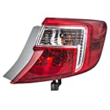 Passengers Taillight Quarter Panel Mounted Tail Lamp Replacement for Toyota 81565-06470