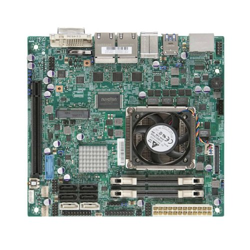 Supermicro Intel Core i7-3612QE 2.1GHz/Intel QM77/DDR3/SATA3 and USB 3.0/A&V&4GbE/Mini-ITX Motherboard and CPU Combo