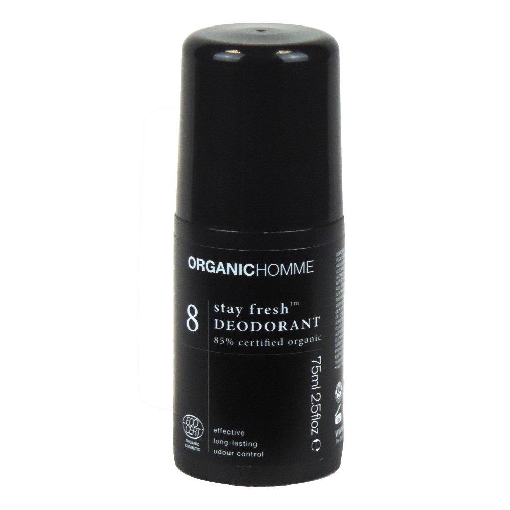Organic Homme - 8 Stay Fresh Deodorant - 75ml (Case of 12)