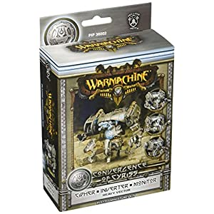 Privateer Press – Warmachine – Convergence: Cipher/Inverter/Monitor Vector Model Kit
