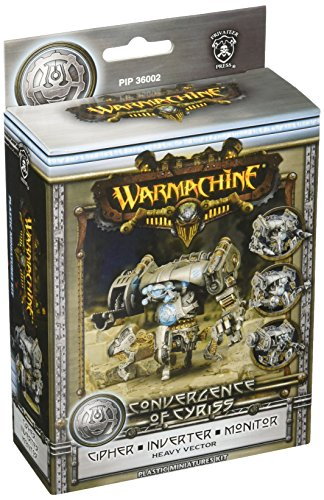 Price comparison product image Privateer Press - Warmachine - Convergence: Cipher / Inverter / Monitor Vector Model Kit
