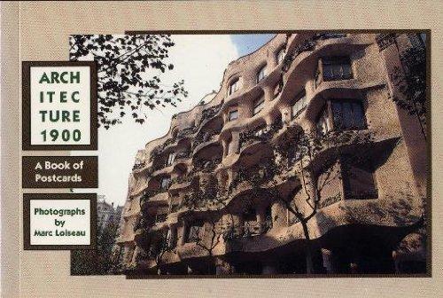 Books : Architecture 1900: Postcard Book
