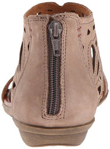 Rockport Cobb Des Femmes De Colline Sandale Plate-ch Jordan Taupe