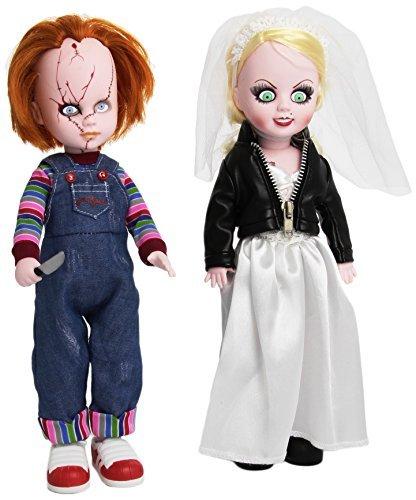 Mezcotoyz - Peluche Chucky - Chucky & Tiffany Living Dead Dolls 25cm - 0696198942804 (Tiffany Living Dead Doll)